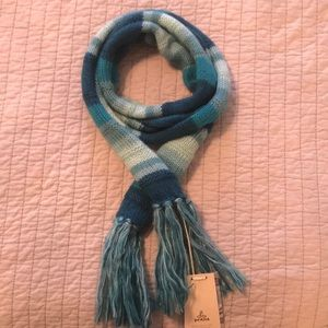 Prana multiple blues scarf with tags